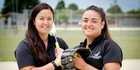Melanie Gettins (left) and Rita Hokianga enhanced their chances of World Series selection at the weekend.