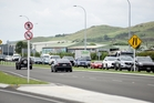 A power outage caused signals and barrier arms at two Mount Maunganui rail crossings to stop working. Photo / George Novak