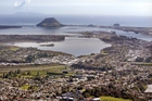 SKY HIGH: Peak property price reflect wide interest in working and living in Tauranga.PHOTO/FILE