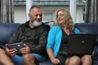 Josh and Delwynne Hahunga hope to learn new cyber skills in the research scheme. Photo / John Borren