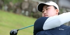 POWER: Sumin Park hit a remarkable hole-in-one recently in Christchurch. PHOTOS/MICHAEL CUNNINGHAM
