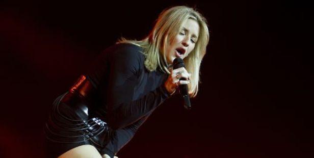 British singer Ellie Goulding. Photo / AFP