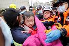 Taiwan quake: 132 trapped under rubble