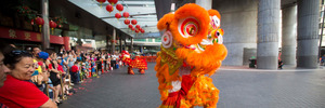 Chinese New Year celebrations at Sky City. Photo / Chris Loufte
