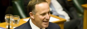 Prime Minister John Key addressed Parliament on the year's agenda. PHOTO / File