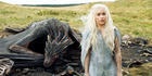 Emilia Clarke as Daenrys in Game of Thrones series five finale. Photo / AP