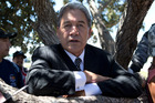 Winston Peters barred from school bus