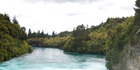 Police were told just before 9pm a man in the natural hot pools at Spa Park had swum into the main flow of the Waikato River. Photo / Sarah Ivey