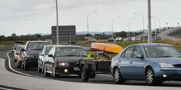 Senior Sergeant Andrew O'Reilly said there was always congestion around Kopu. Photo / Greg Bowker