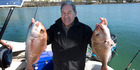 Peters' $100k fishing challenge to PM
