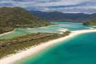 "The beach is listed with real estate company Bayleys, which describes it as ""picturesque"". Photo / Supplied"
