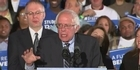 Watch: Sanders Celebrates Victory, 'Huge Voter Turnout'