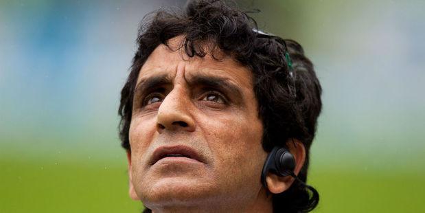 Umpire Asad Rauf. Photo / Getty