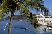 The boat hit rocks near Leverick Bay in the British Virgin Islands. Photo / Getty