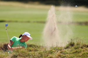 Cathryn Bristow is hoping to join Lydia Ko on the Kiwi team at the Rio Olympics. Photo / Getty