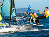 Peter Burling and Blair Tuke of New Zealand sail in the men's 49er FX class. Photo / Getty Images