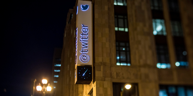 Twitter forecasts earnings between $595 million and $610 million for next quarter, significantly lower than what analysts expected. Photo / Bloomberg