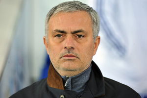 Jose Mourinho could become Manchester United's third manager in three year's after the departure of Sir Alex Ferguson. Photo/Getty