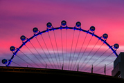"The High Roller Ferris wheel is billed as ""The Happiest Half Hour in Vegas."" Photo / Getty"