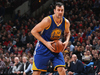 Andrew Bogut #12 of the Golden State Warriors handles the ball. Photo / Getty Images