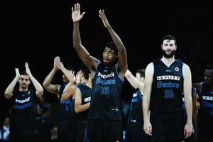 Charles Jackson led the Breakers with a double-double in their final regular-season home game. Photo / Getty