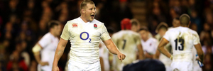 Dylan Hartley earned the pass mark in his first game as England captain. Photo / Getty