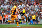Warriors fullback Roger Tuivasa-Sheck suffered a calf strain in the latter stages of the NRL Auckland Nines at Eden Park. Photo/Getty