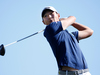 Kiwi Danny Lee tees off on the third hole during the final round of the Waste Management Phoenix Open. Photo/Getty