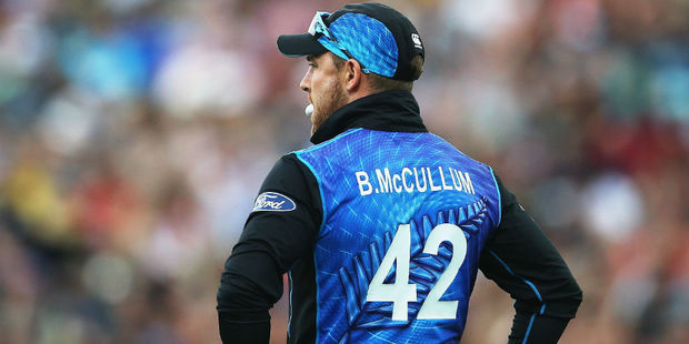Brendon McCullum is set for his final swansong in international cricket. Photo / Getty