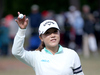 Lydia Ko of New Zealand acknowledges the crowd. Photo / Getty Images