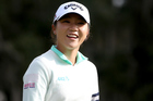 Lydia Ko's Lonsdale Cup award tops off a phenomenal year for the 18-year-old golfer. Photo/Getty