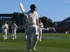 Adam Voges is applauded from the field at stumps on the second day of the first test. Photo / Getty