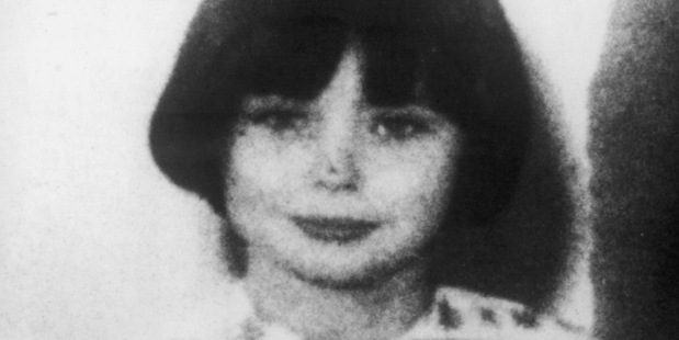 Mary Bell, 11, was sentenced to life imprisonment for the murder of two young boys in 1968. Photo / Getty