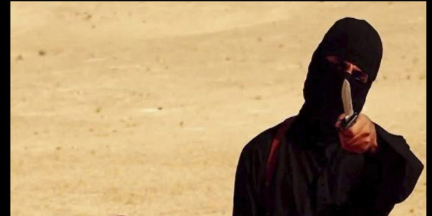 Jihadi John appears in an Isis execution video. Photo / Getty