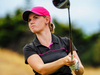 Grace Senior in action during the women's New Zealand Strokeplay Championship. Photo / Dave Lintott