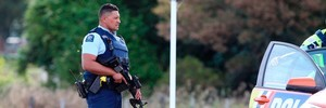 Armed police cordoned off streets as Armed Offenders Squad went to a house in Carroll St, Frasertown, Northern Hawke's Bay and arrested Ihaka Paul, 26, who was wanted by Police after he cut off his electronic bail bracelet and escaped