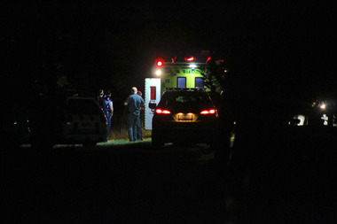 Police were called by ambulance services to a residential address on Matua Rd about 8pm. Photo / Daniel Hines