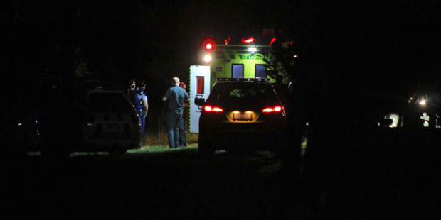 Loading Police were called by ambulance services to a residential address on Matua Rd about 8pm. Photo / Daniel Hines