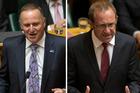 Key, Little face off in Parliament return