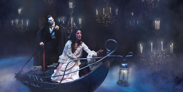 Chris Crowe and Barbara Graham in Phantom of the Opera.