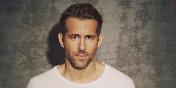 Actor Ryan Reynolds.