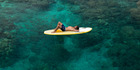The turquoise expanse of Fiji's brilliant blue water is perfect for day-long activities. Photo / Fraser Clements