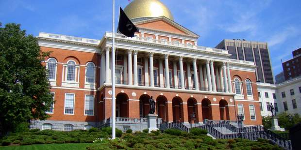 Massachusetts State House in the United States.