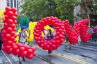 Participants at the annual San Francisco Gay pride parade. Photo / 123RF
