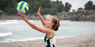 Beach volleyball: Local schools play off for third place