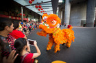 Chinese New Year party hits top gear