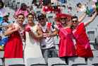 Photos: Fans at the Auckland Nines 2016