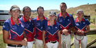 A GRADE: The victorious Putaruru-Tirau team. From left, Nicky Schraff, Paddy Cornelius, Steve Watson, Mirren Tye, Tony Schraff, and Lauren Tye. PHOTO/BEVAN CONLEY
