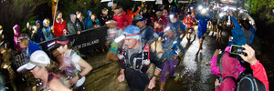 Tarawera Ultramarathon startline. PHOTO/STEPHEN PARKER