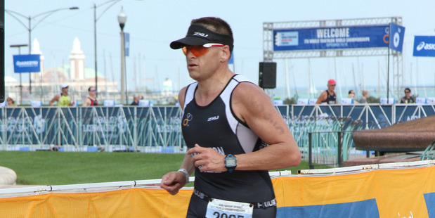 Stephen Houghton represented New Zealand at the age group World Triathlon Championships in Chicago. Photo // Sovereign Tri Series